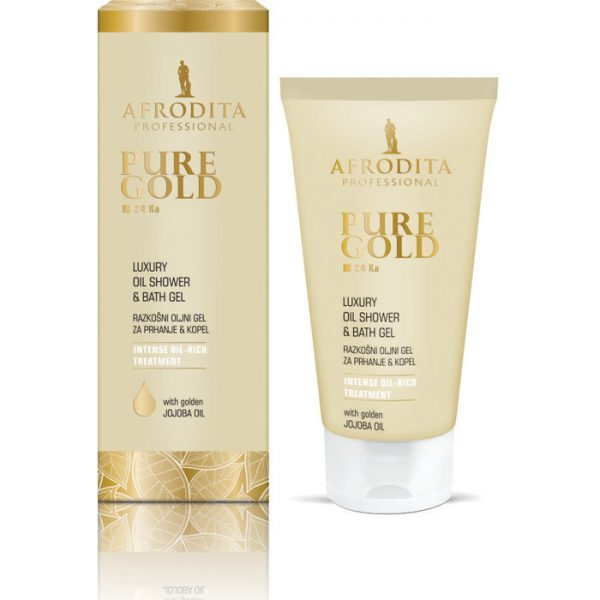 Pure Gold Oil Shower and Bath Gel